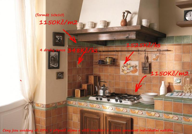 Keramický obklad do kuchyně 10x10 CIR Quintana Morlupo & Spavagli