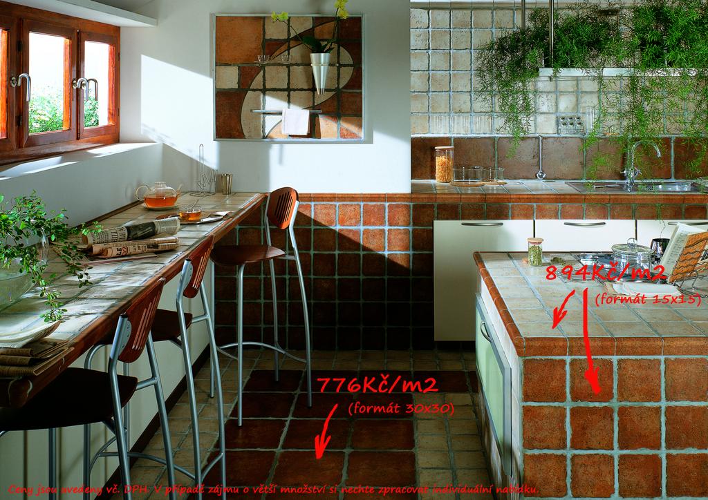Rustikální dlažba do interiéru Cerdomus Kyrah Mandana Red
