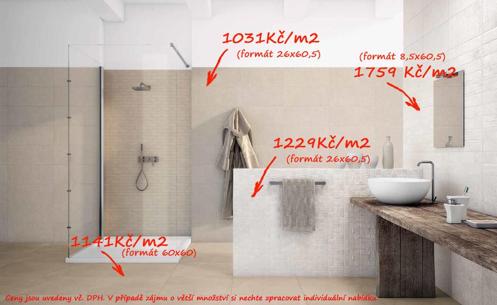 Jakou barvu do koupelny? Naxos Le Marais Milk, Ecrù & Crystal Terra