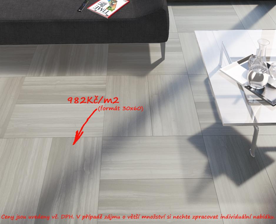 Dlažba na podlahu Del Conca PL Pluvium - PL 15