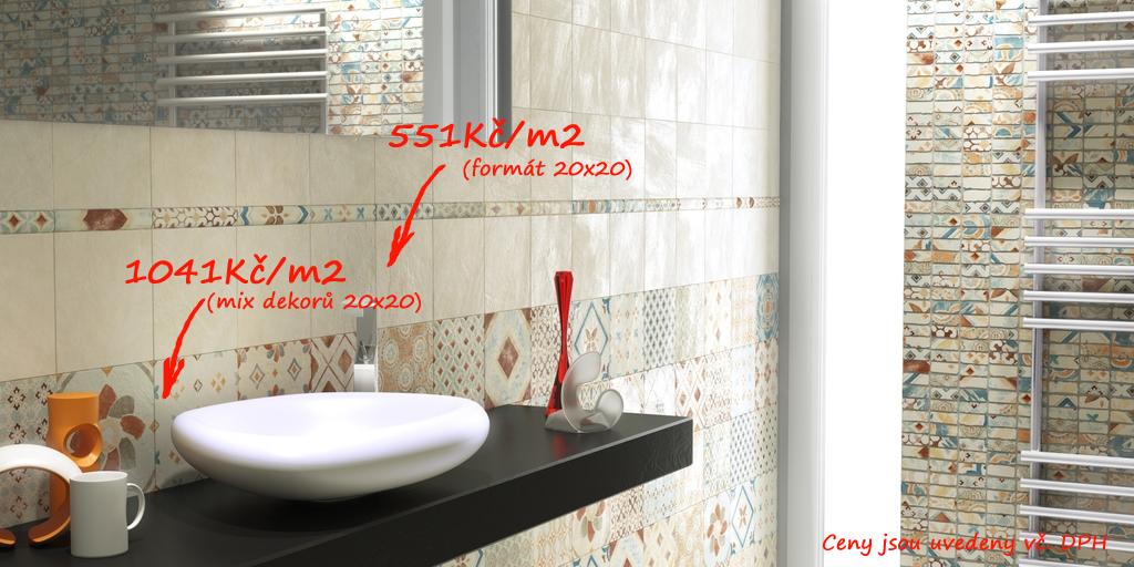 Mozaikové obklady do koupelny Del Conca - ST Amarcord - ST 18