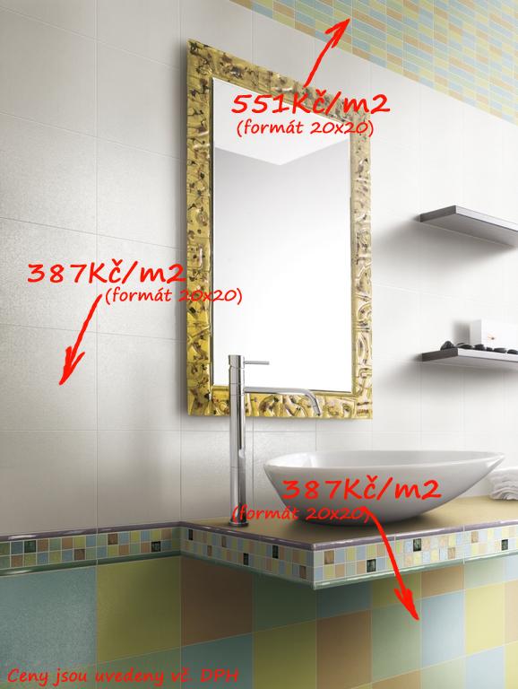 Pastelová barva v koupelně Del Conca TF Feeling TF 9, 18, 19, 23, 30 & 40