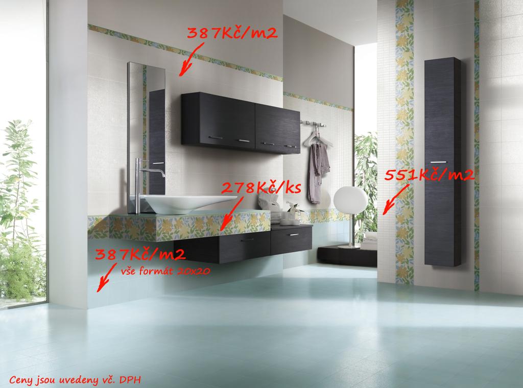 Bílá mozaika v koupelně Del Conca TF Feeling - TF 18, 19 & 40