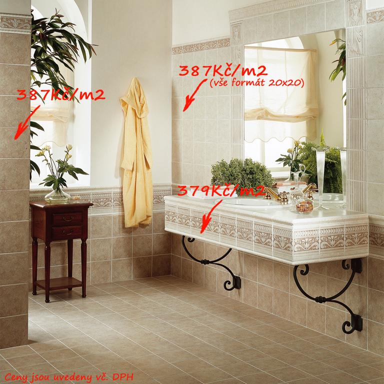 Klasická koupelna Del Conca TR Calliope TR 1 & 11