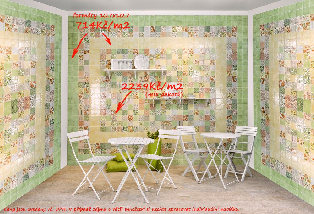 Jaké obklady do malé koupelny či kuchyně Del Conca AG Agata Preziosi Giada