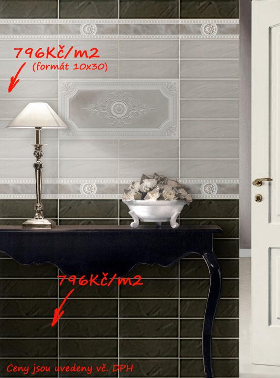 Kontrastní obklady v koupelně Del Conca NS Archistar - NS 1 & 70
