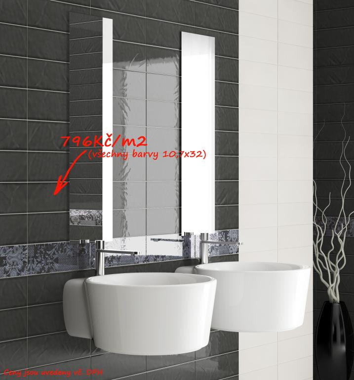 Černobílá koupelna Del Conca - NS Archistar - NS 1 & 18