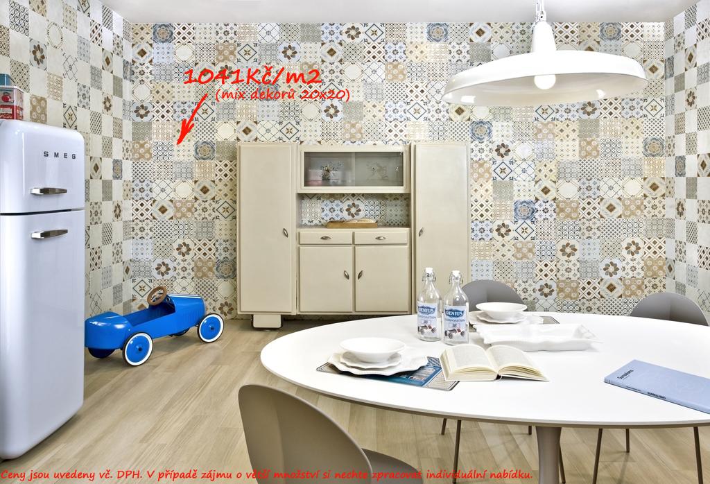 Obklady do kuchyně Del Conca Amarcord ST 18