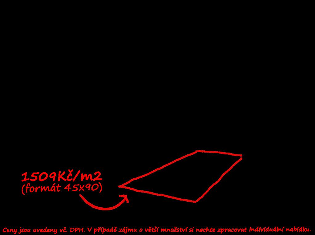 Přírodní kámen napodobující dlažba Saime Volcano Grigio