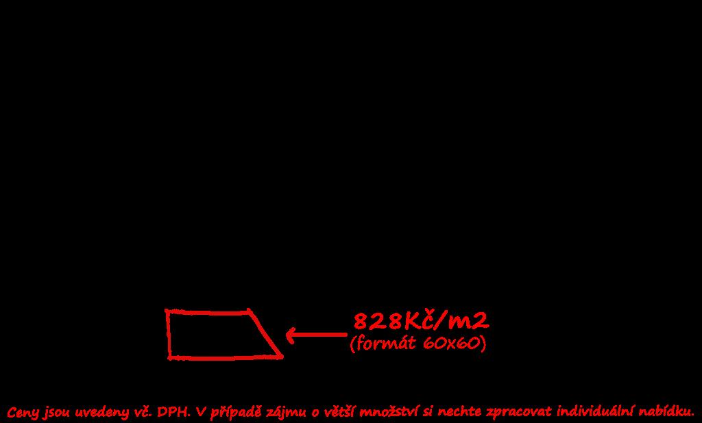Světlá jednolitá dlažba Saime Block Bianco
