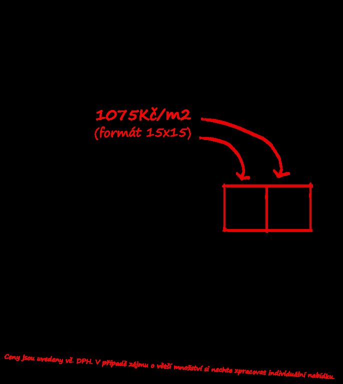 Obklady do koupelny provence styl Tonalite Provenzale Lampone