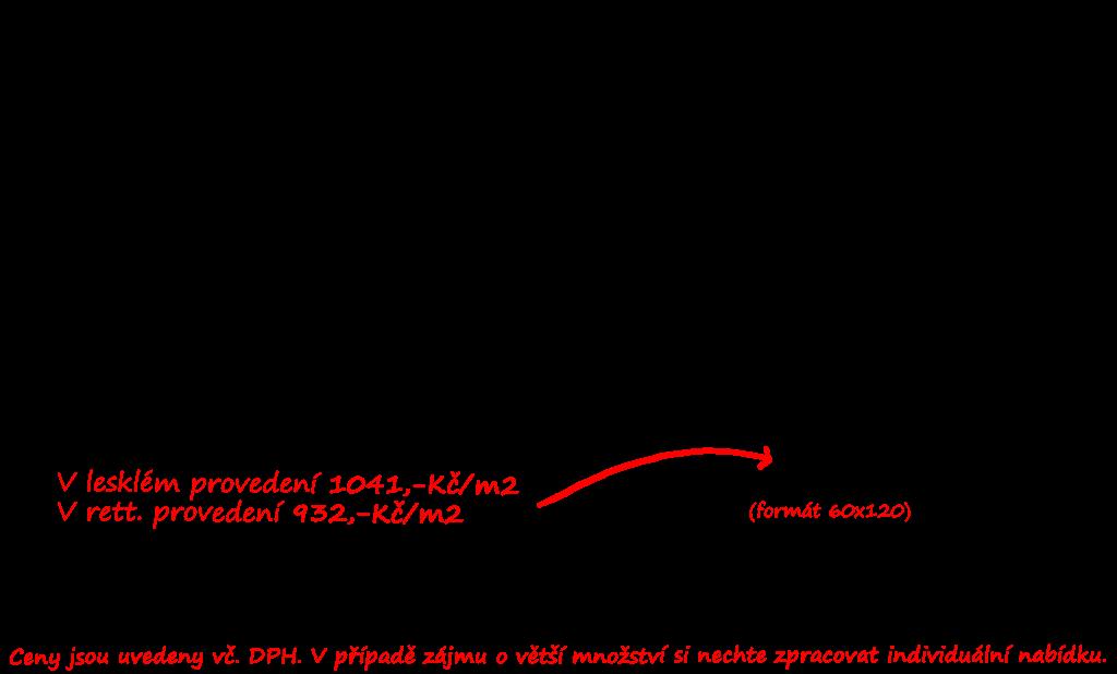 Dlažba vnitřní i venkovní Sichenia Chambord Grigio 60x60 a 60x120