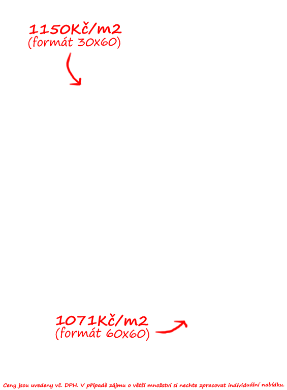 Sichenia Pietra Tiburtina Bianco 60x60 a 30x60
