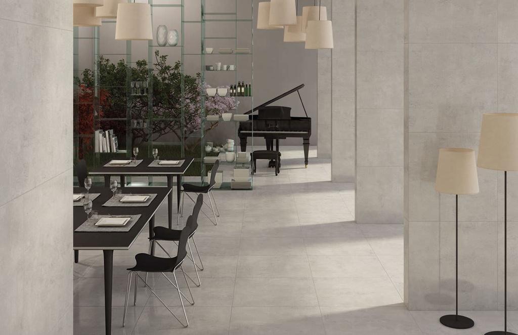 Century Studio Grigio - dlažba v dekoru cementu