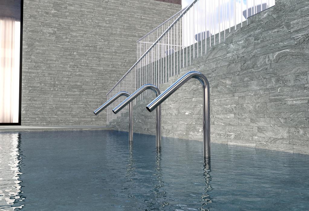 Obklady bazénůDel Conca HEG Engadina - HEG 5 stonemix