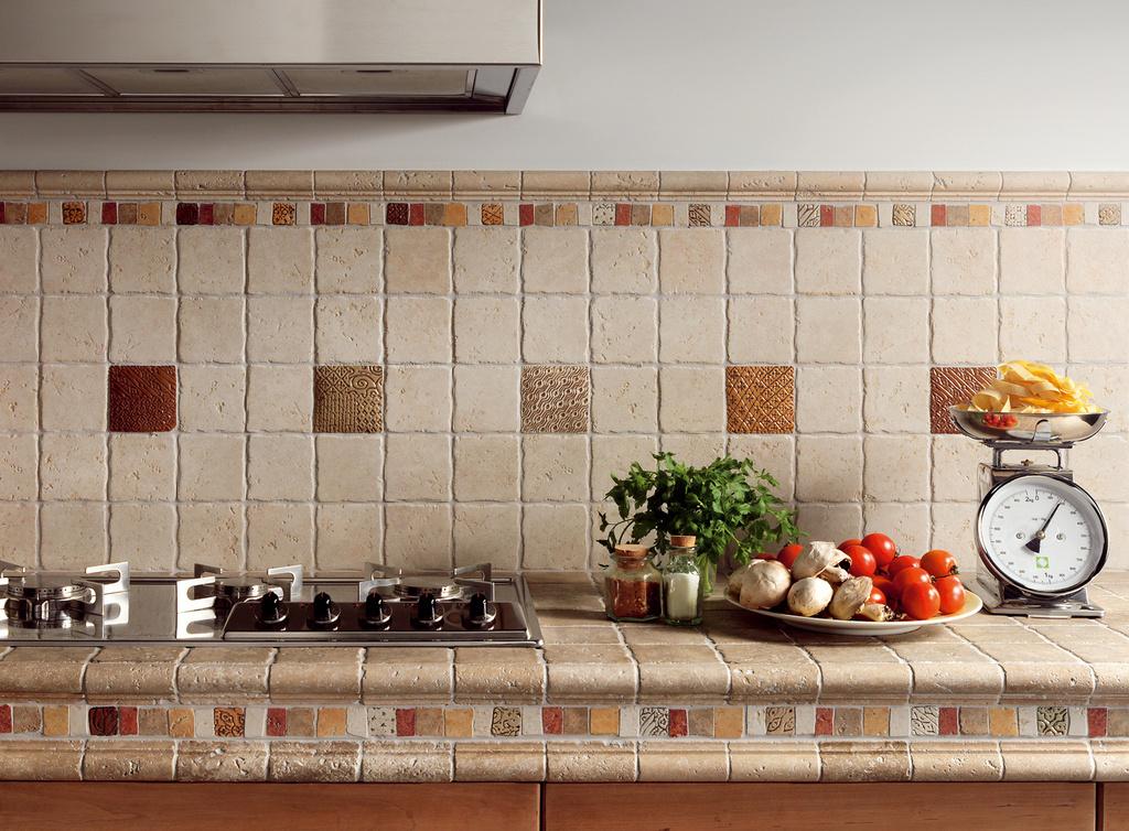 Obklady kuchyně retro Del Conca HTV Tivoli 1 & 9