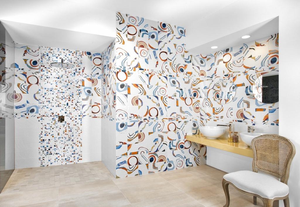 Koupelnové obklady Del Conca - KN Kandinsky - Cerchi