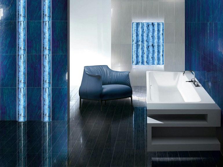Modrá koupelna Brennero Folli Follie Toth Glass Blu