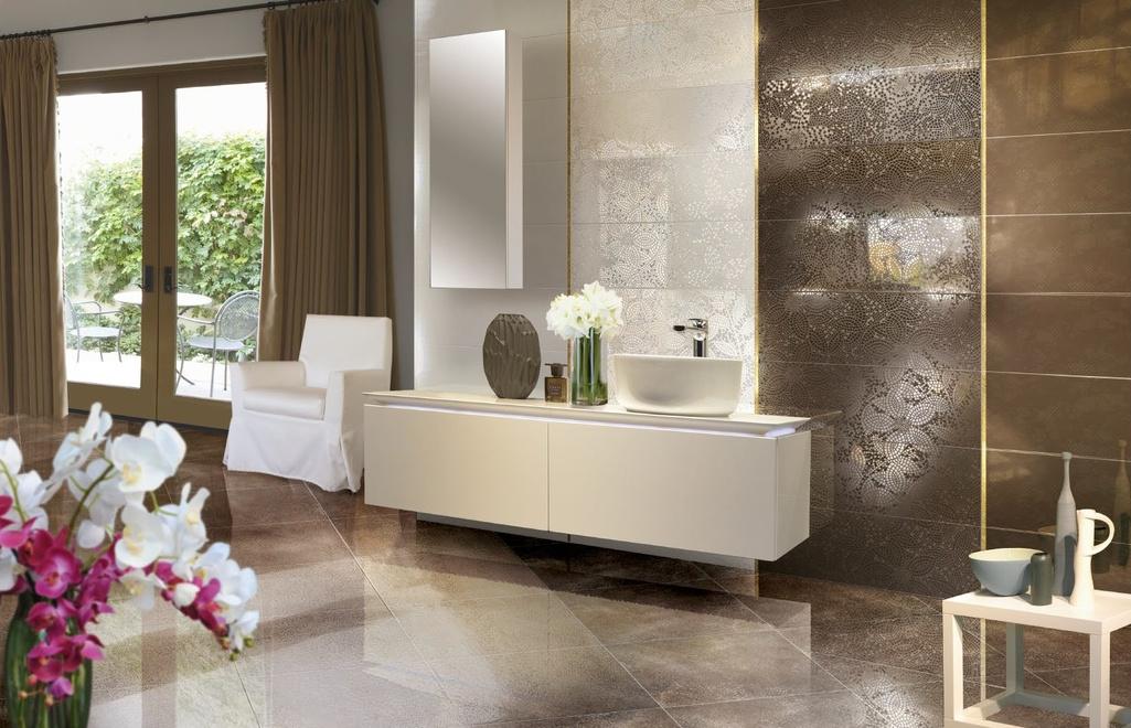 Nevšední a zajímavá koupelna Brennero Luce Charme