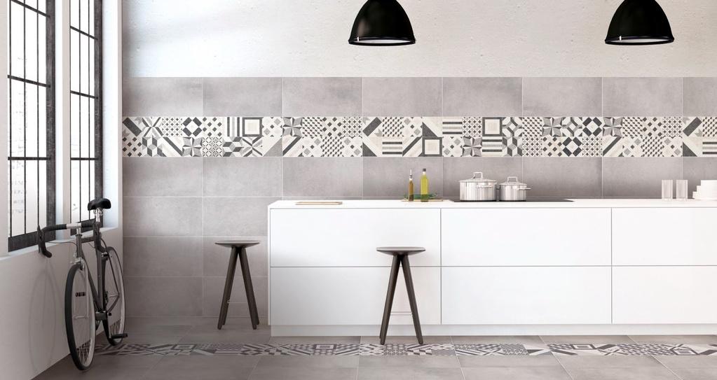 Obklad do kuchyně Brennero Now Cementine Grey