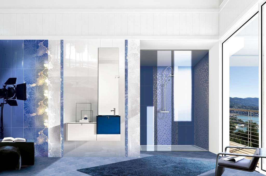 Modrá koupelna Brennero - Presuntuosa - Appeal Blu