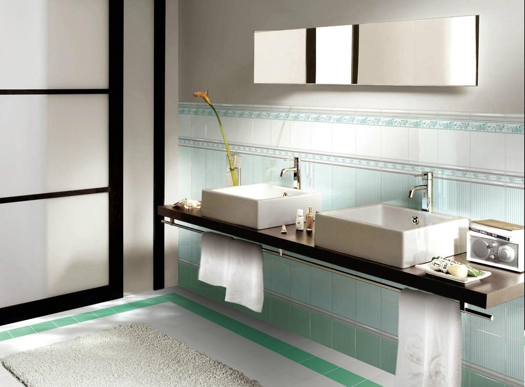 Romantické obklady do koupelny Brennero  Ricordi Romantica