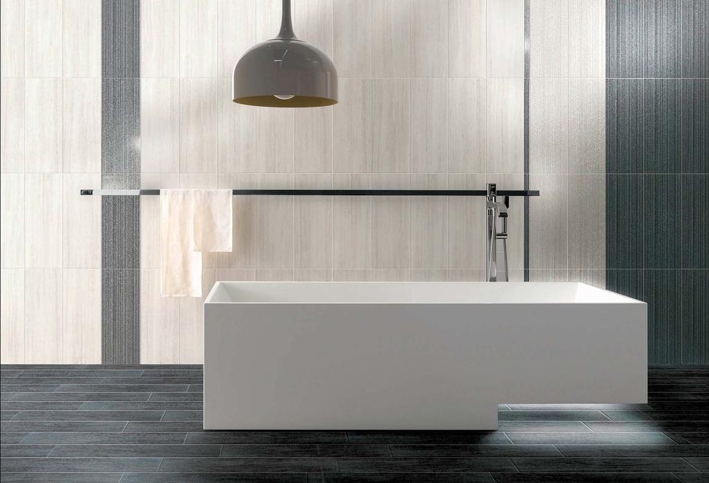 Moderní luxusní obklady Brennero Splendida Mat Lurex Pearl & Iron