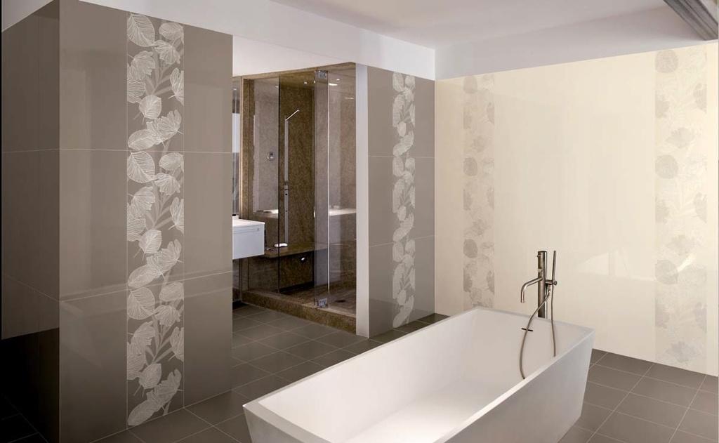 Přírodní koupelna to je Ricchetti Exo Taupe, Ivory & Decors