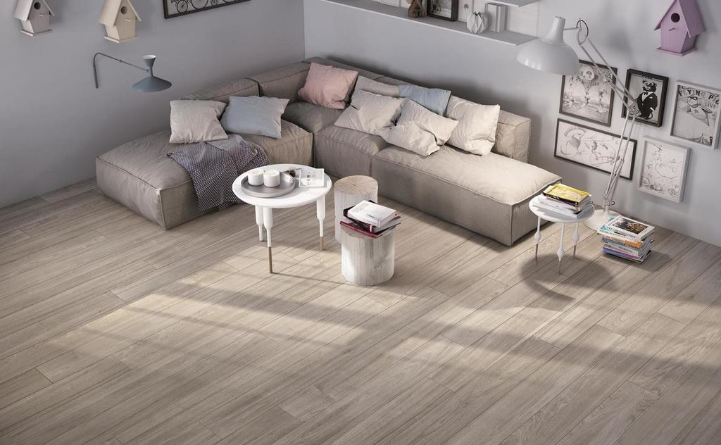 Dokonalá imitace dřevem dlažba Ricchetti Soft Smoke