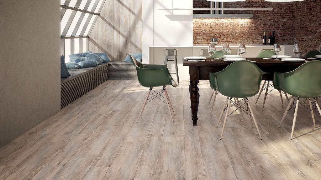 Dřevěné keramické dlažby Marca Corona Cottage Grey