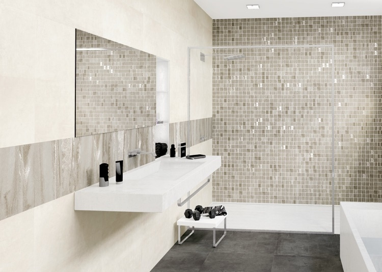 Mozaika Aleluia Ceramicas Alpe White & Aquarella
