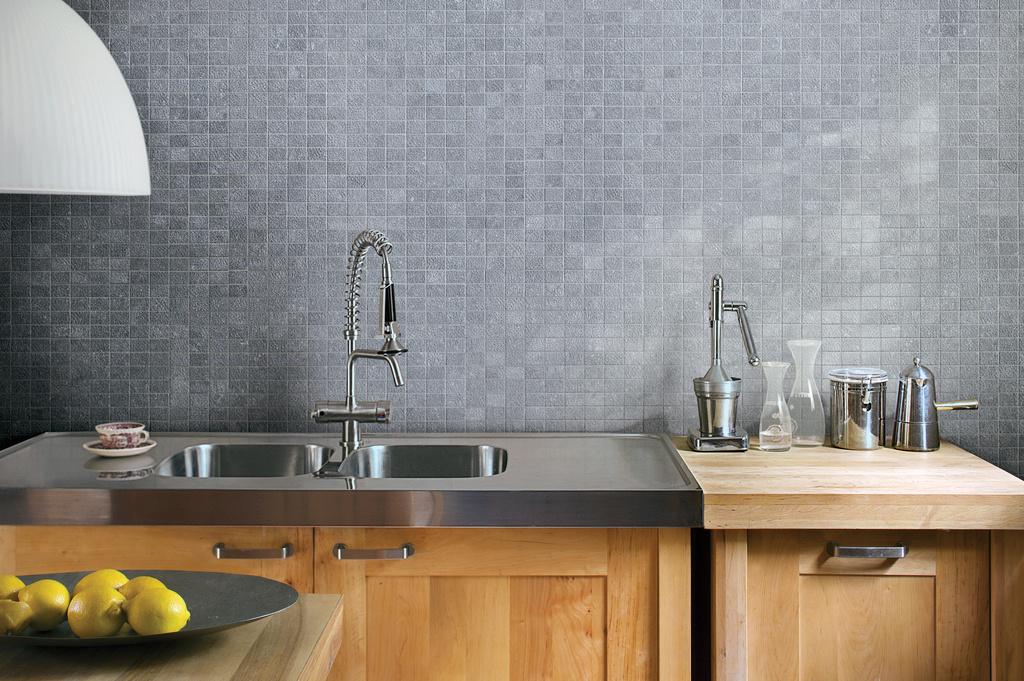 Mozaika za kuchyňskou linkou Refin Bluetech Design Mosaico
