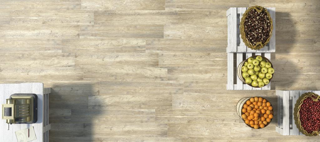 dřevem inspirovaná  dlažba Refin Larix Natural