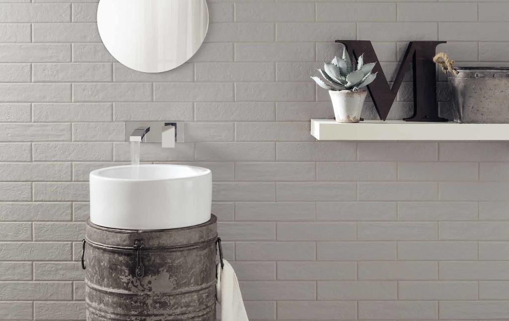 dlažba šedá cihla Coem Ceramiche Bricklane Total Grey