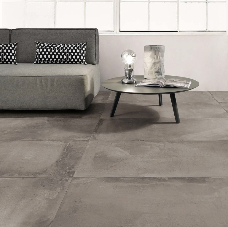 Imitace cementové dlažby Coem Ceramiche Cottocemento Dark Grey