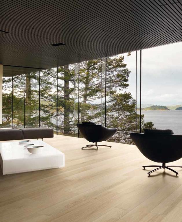 Dlažba dekor dřevo Coem Ceramiche Habita Sbiancato