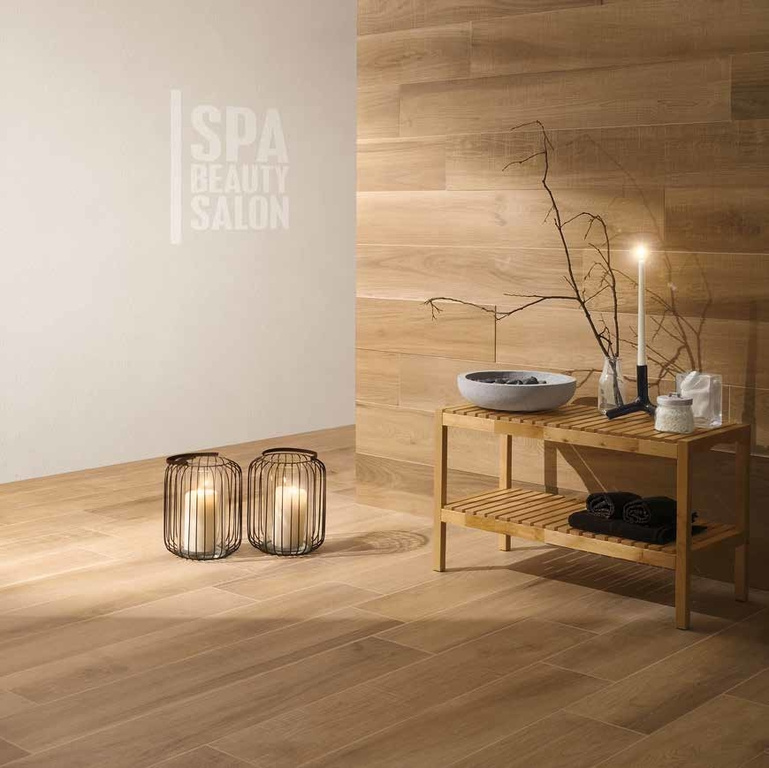Obklad a dlažba dekor dřeva Coem Ceramiche Habita Castagno