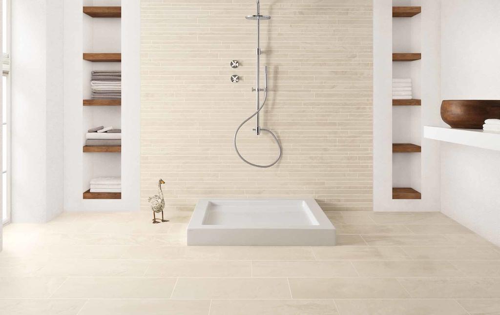 Obklady a dlažba do koupelny Coem Ceramiche Horizon Avorio