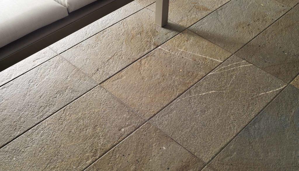 Obdélníková žulová dlažba Coem Ceramiche Outstone Avana