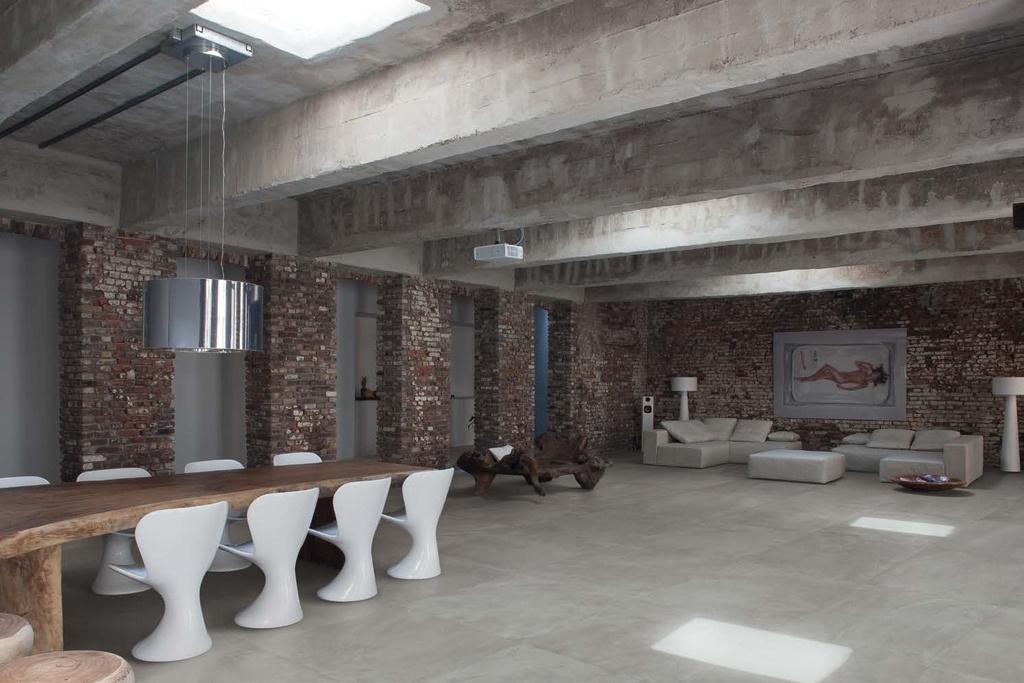 Moderní velkoformátová dlažba Ergon Architect Resin Berlin Grey