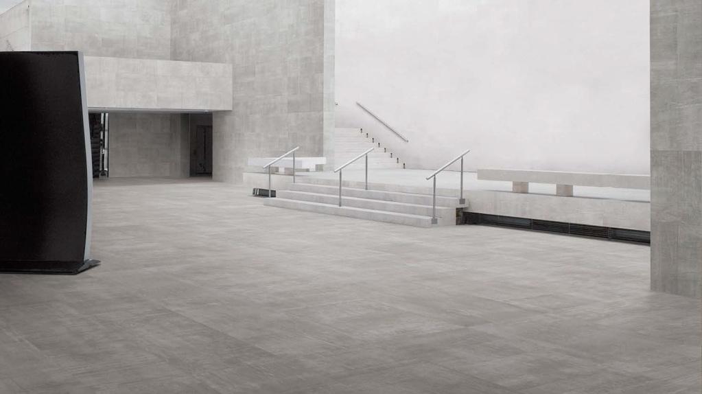 Slinutá dlažba jako beton Ergon Back2Back Grey