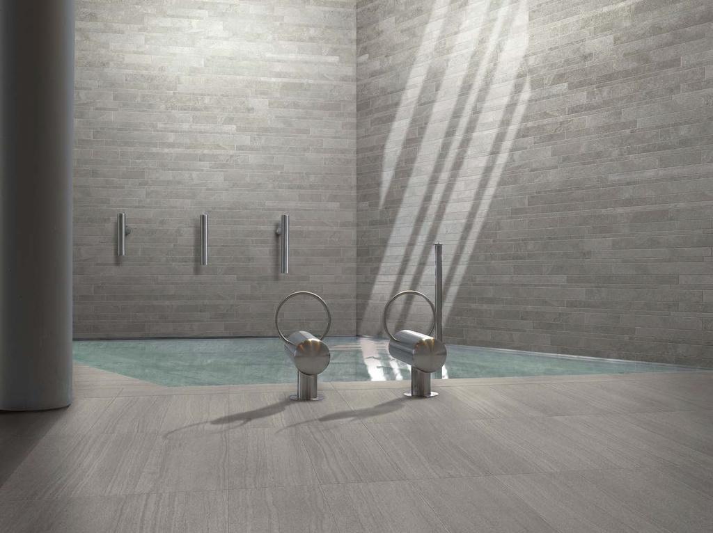 Obklady kolem bazénu Ergon Stone Project Grey