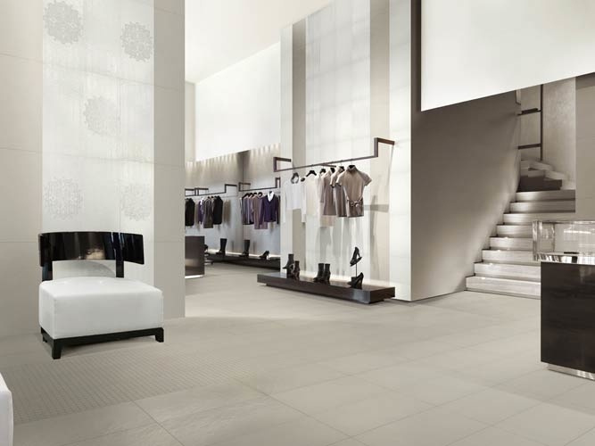 Dlažba jako beton Settecento Concreta Gesso & Cemento