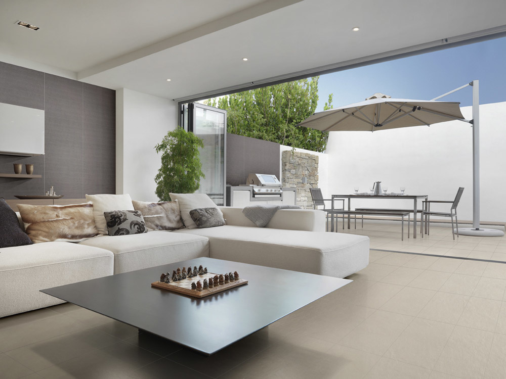 Dlažba béžový beton Settecento Concreta Malta & Fango