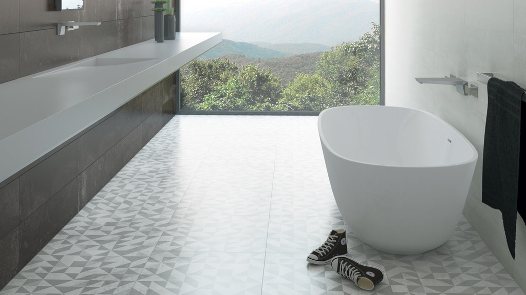 Aleluia Ceramicas Concrete Join, Mass & Dec. Shadow Concrete