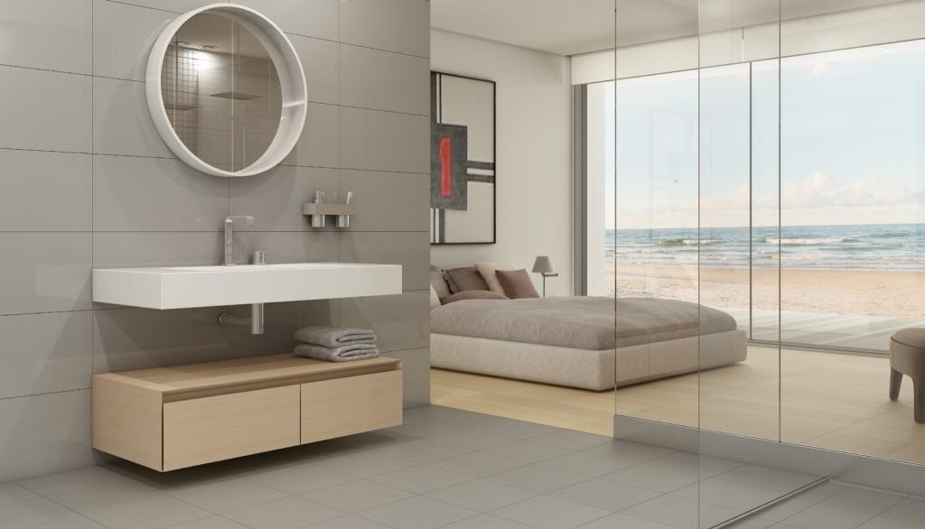 Industriální koupelny Keratec Técnica Cinza Claro