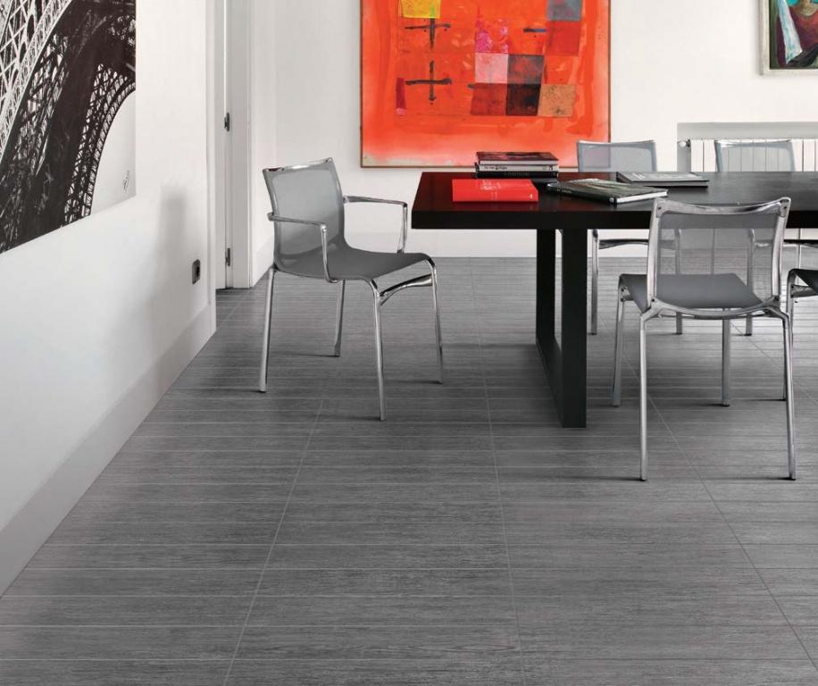 Dřevem inspirovaná rektifikovaná dlažba Saime Natif Pepe