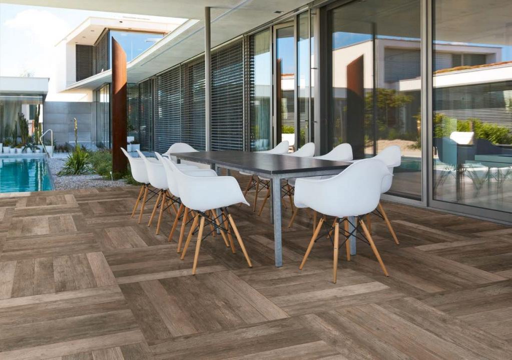 Venkovní dřevěná dlažba Sichenia Arenberg Bruno