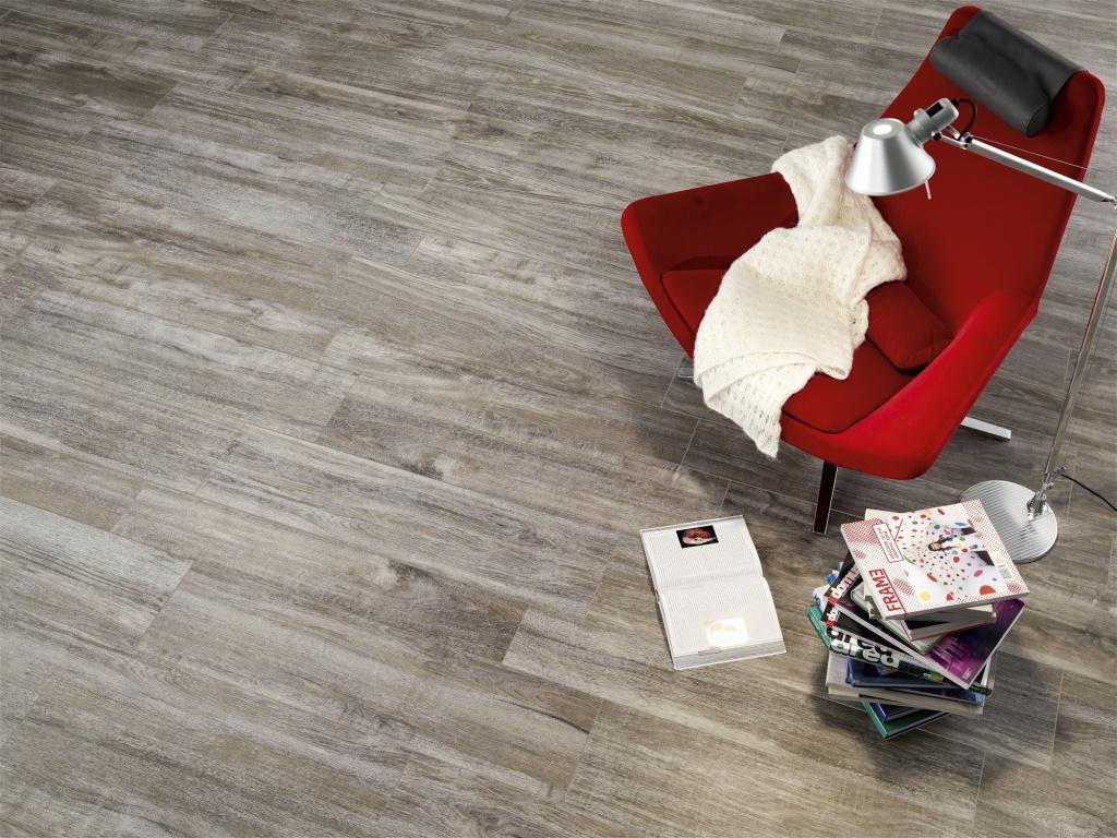 Trendová dřevěná podlaha Ascot Focus Grey