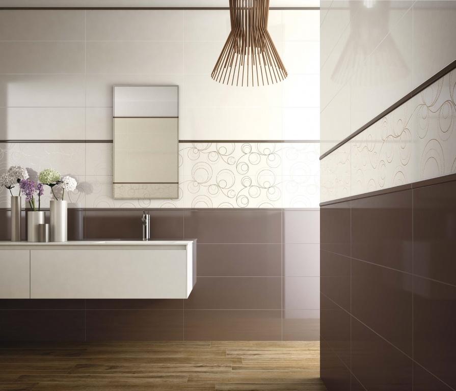 Moje koupelna Ascot Lumen Ivory & Brown